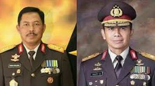 2 Kapolda Metro Jaya Kapolda Jawa Barat yang dicopot jabatannya
