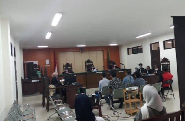 Sidang kasus narkoba dengan terdakwa Rusmawarni alias Mawar, kembali digelar Pengadilan Negeri (PN) Sampit